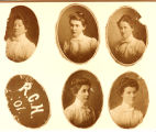 The 1901 graduating class of the Rochester City Hospital School of Nursing