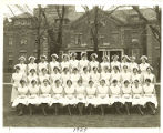 The 1929 graduating class of the Rochester City Hospital School of Nursing