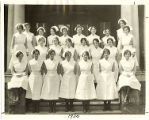 The 1930 graduating class of the Rochester City Hospital School of Nursing