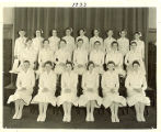 The 1933 graduating class of the Rochester City Hospital School of Nursing