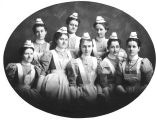 Rochester Homeopathic  Training School for Nurses class of 1897 and 1898