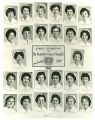The 1962 graduating class of the Rochester General Hospital School of Nursing