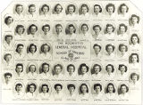 The 1947 graduating class of the Rochester General Hospital School of Nursing