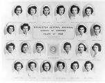 The 1949 graduating class of the Rochester General Hospital School of Nursing