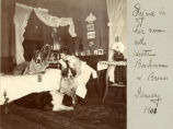 Sigrid in her room with Hector, Bonhomme & Bremis, January 1901