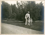 Herbert Wadsworth and dog Bonhomme - 2