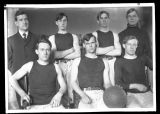 Early Brockport Normal School Basketball team - 1