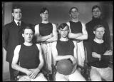 Early Brockport Normal School Basketball team - 2