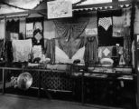 Armenian booth at the Rochester Homelands Exhibition, April 10-19, 1920, on the grounds of...