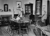 "Exhibit of ""Black Horse Inn"" in exhibit Erie Canal Thruway of Yesterday Octobert -..."