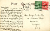 Gertrude Herdle Letter to George Herdle 7-13-1921 from Lincoln England