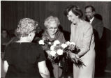 Gertrude Herdle Moore and Isabel Herdle honored at Gallery's 70th Anniversary December 3, 1983,...