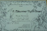 Poster from A Midsummer  Night 's Dream by the Nazareth Theatre Arts Program &  Drama Club at...