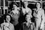 Volunteer librarians from Highland Hospital circa. 1937