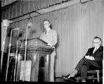 Mid-Century Convocation opened by Earle W. Demotte, Ithaca College, Ithaca, NY,  taken May 11,...
