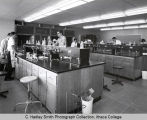 Students in laboratory, Williams Hall, Ithaca College, Ithaca, NY, taken November 3, 1964.