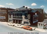 College Gymnasium on Seneca St., Ithaca College, Ithaca, NY, exterior picture from the Northeast,...
