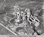 Campus aerial view ( South Hill campus ), Ithaca College, Ithaca, NY,  from Southwest, taken...