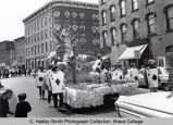 Spring Weekend parade float, Ithaca College, Ithaca, NY, corner of State & Aurora Streets,...