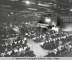 Convocation banquet for 75th Anniversary Celebration, Ithaca College, Ithaca, NY, group picture...