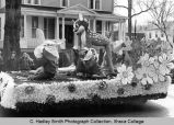 "Spring Weekend parade float, ""Bambi"", Ithaca College, Ithaca, NY, close view, taken..."