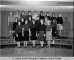 Sigma Alpha Iota Fraternity for Women, Ithaca College, Ithaca, NY,  group picture taken November...