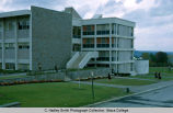 Williams Hall East side, Ithaca College, Ithaca, NY,  exterior view from the Southeast taken...
