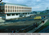 Muller Faculty Center, Ithaca College, Ithaca, NY,  South side, exterior view from the Southwest,...