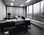 Ford Hall, Ithaca College, Ithaca, NY,  interior view, taken January 20, 1965