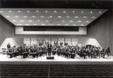 Concert Band,  Ford Hall, Ithaca College, Ithaca, NY, taken February 14, 1968.