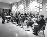 Jazz Lab rehearsal, Band Rehearsal Room, Ford Hall, Ithaca College, Ithaca, NY,  taken September...