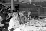 Lillian Vail & other Alumni Reunion attendees in Terrace Dining Hall, Ithaca College, Ithaca,...