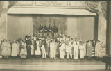 HMS Pinafore cast photograph, Ithaca Conservatory of Music, Ithaca, NY, 1923