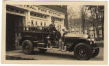 """Queen Mary"" Potsdam Fire Truck with Driver"