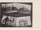 Potsdam Schools 1893, Potsdam Normal Schools, Clarkson College, district #17, and the High School.