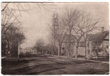 Lower Main St., looking West, Methodist Church