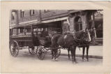 Arlington Hotel, horse & station-wagon.