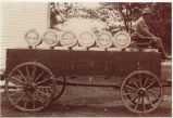 Brookfield Whole Milk Cheese delivery wagon