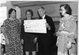 Class of 1944 donates funds to Rosenthal Library, Queens College, New York, Accession 2005X-04