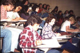 Students in class, 1973, Queens College, New York, Accession 2005X-02