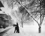 R16_Students on Snow Covered Campus, ca. 1943 [slide 19]