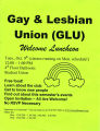 Gay & Lesbian Union Welcome Luncheon