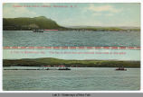 Hudson River .Brick Industry, Haverstraw, N.Y. [top]. A tow on Haverstraw Bay.  The bay is about...