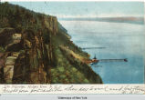 The Palisades, Hudson River, N.Y. [front caption] (1front) [h0047ac1]