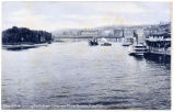 View of River Looking North from Congress Street Bridge, Troy, N.Y. [front caption] (1front)...
