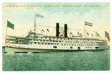 "HUDSON NAVIGATION COMPANY ""PEOPLE'S LINE"" BETWEEN ALBANY AND NEW YORK [front caption]..."