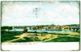 1537--Hudson River Panorama, Troy, N. Y. [front caption] (1front) [h0153ac1]