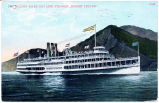 "THE HUDSON RIVER DAY LINE STEAMER ,,ROBERT FULTON"". [front caption] (1front) [h0147ac1]"