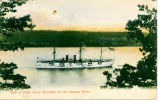 One of Uncle Sams Warships on the Hudson River [front caption] (1front) [h0138ac1]