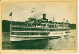 "Steamer ""Peter Stuyvesant"" of the Hudson River Day Line [front caption] (1front)..."